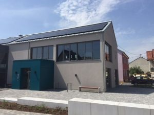 Rathaus Waldalgesheim Seitenansicht